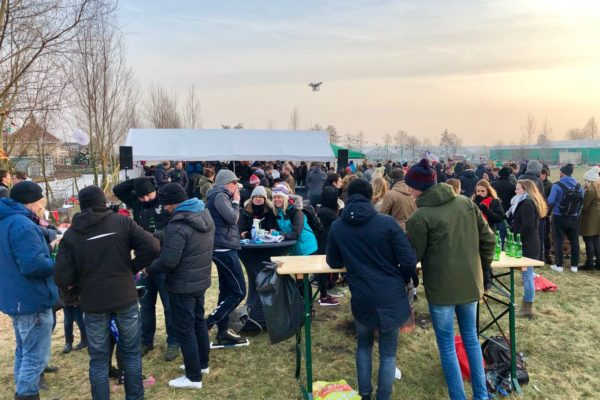 Polder pop-up: Op glad ijs